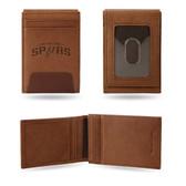 San Antonio Spurs Premium Leather Front Pocket Wallet