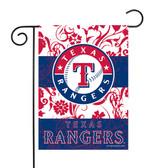 """Texas Rangers - TX Garden Flag13"""" X 18"""""""