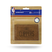 Los Angeles Clippers Leather Trifold