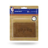 San Antonio Spurs Leather Trifold Wallet
