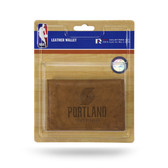 Portland Trail Blazers Leather Trifold Wallet