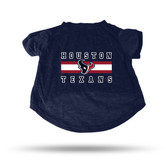 Houston Texans NAVY PET T-SHIRT - XL
