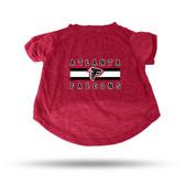 Atlanta Falcons RED PET T-SHIRT - SMALL