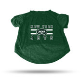 New York Jets GREEN PET T-SHIRT - SMALL