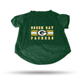 Green Bay Packers GREEN PET T-SHIRT - XL