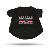 Arizona Cardinals BLACK PET T-SHIRT - XL