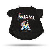 Miami Marlins BLACK PET T-SHIRT - XL