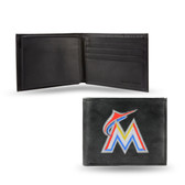 Miami Marlins Embroidered Billfold