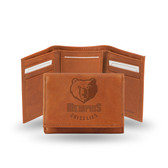 Memphis Grizzlies Embossed Trifold
