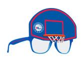 Philadelphia 76ers Novelty Sunglasses