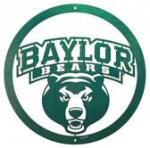 Baylor Bears 24 Inch Scenic Art Wall Design