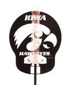 Iowa Hawkeyes Rain Gauge