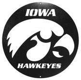 Iowa Hawkeyes 24 Inch Scenic Art Wall Design