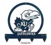 Kansas Jayhawks Key Chain Holder Hanger