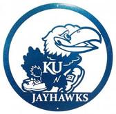 Kansas Jayhawks 24 Inch Scenic Art Wall Design