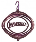 Mankato Mavericks Tini Swirly Metal Wind Spinner