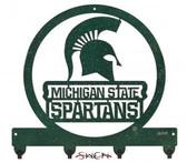 Michigan State Spartans Key Chain Holder Hanger