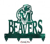 Minot State Beavers Key Chain Holder Hanger