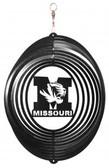 Missouri Tigers Circle Swirly Metal Wind Spinner