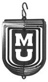 Missouri Tigers Tini Swirly Metal Wind Spinner