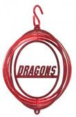 MSUM Dragons Tini Swirly Metal Wind Spinner