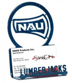 Northern Arizona Lumberjacks Business Card Holder