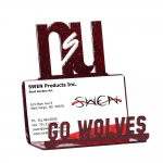 Northern State Wolves Business Card Holder