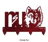 Northern State Wolves Key Chain Holder Hanger