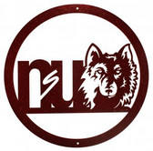 Northern State Wolves 24 Inch Scenic Art Wall Design