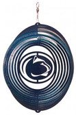 Penn State Nittany Lions Circle Swirly Metal Wind Spinner