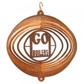 Purdue Boilermakers Mini Swirly Metal Wind Spinner