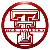 Texas Tech Red Raiders 24 Inch Scenic Art Wall Design