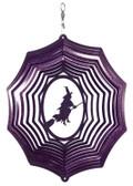 Witch Web Purple Wind Spinner