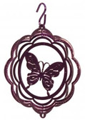 Butterfly Tini Purple Wind Spinner