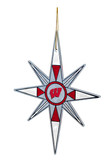 Wisconsin Badgers Snowflake Ornament