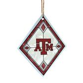 Texas A&M Aggies Art Glass Ornament