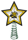 Wichita State Shockers Art Glass Tree Topper