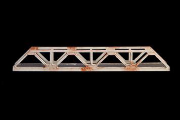 Truss Bridge, Single Span, 2 Lane (Acrylic) - 285ROAD037-2