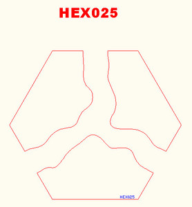 """Y"" Intersection River Hex - 285HEX025"