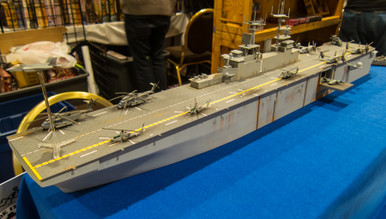 1/285th Scale USS Wasp LHD-1 By GameCraft Miniatures