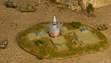 Nuclear Missile Silo (Resin) - 285MEV067