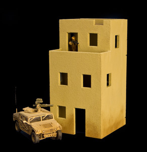 3 Story Building (MDF) - 15MMDF130