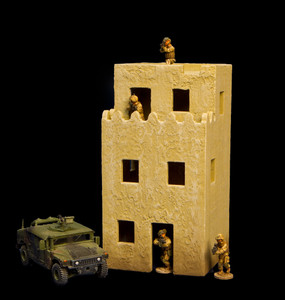 3 Story Building (MDF) - 15MMDF131