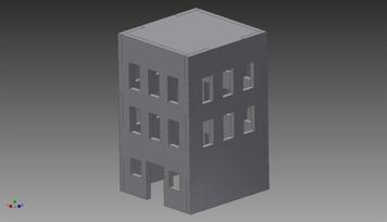 City Building (MDF) - 15MMDF256