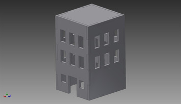 City Building (MDF) - 15MMDF266