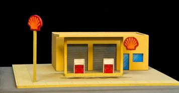 Gas Station (MDF) - 15MMDF053