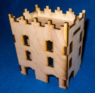 Middle East Three Story Building (MDF) - 15MMDF022