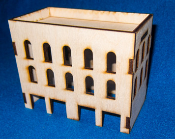 Middle East Three Story Building (MDF) - 15MMDF025