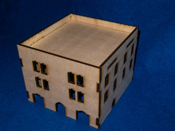Middle East Three Story Building (MDF) - 15MMDF027