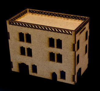 Middle East Three Story Building With Removable Roof (MDF) - 15MMDF023-R